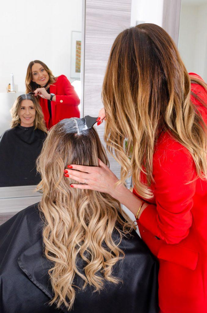 Unsere Haar-Philosophie: auf jeden Menschen persönlich einzugehen - Completed Hairstyle in Graz