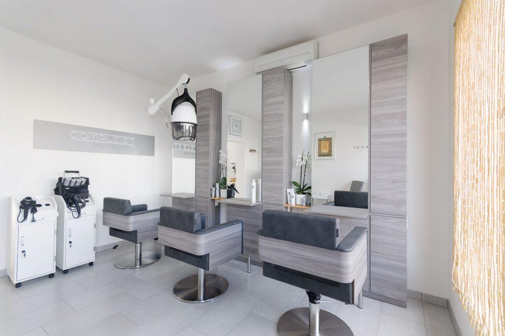 Friseur in der Kärntner Straße in Graz: modern, harmonisch eingerichteter Salon - Completed Hairstyle