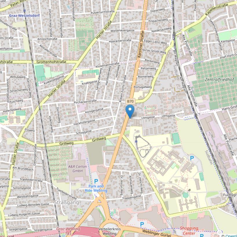 Kontakt: Anfahrt - Ihr Friseur in der Kärntnerstraße in Graz